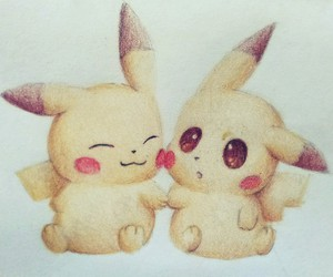 pikachu, pokemon, and cute image