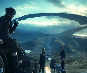 final fantasy, game, and ffxv image