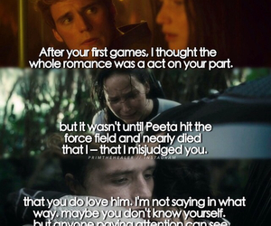 katniss, peeta, and finnick image
