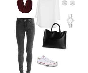 outfit, autumn, and simple image