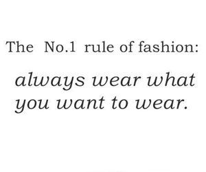 fashion, quotes, and rules image