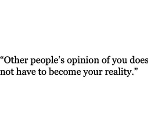 opinion and reality image