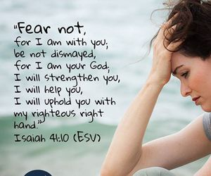 fear, god, and help image