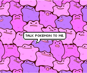 pokemon, purple, and ditto image