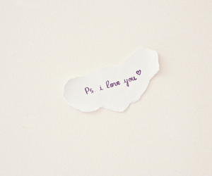 text, I Love You, and pastel image