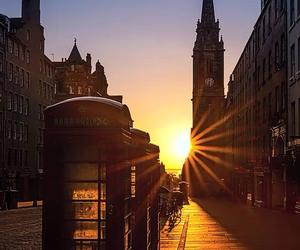 architecture, edinburgh, and scotland image