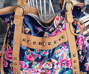 floral and purse image