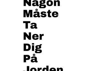idiot, quote, and svenska image