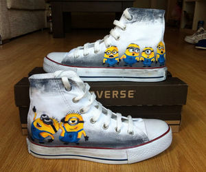 converse and minions image