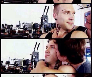 divergent, eric, and funny image