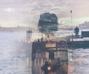 blend, city, and girl image