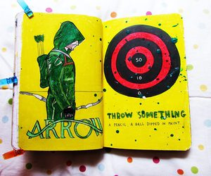 arrow, wreck this journal, and wreckthisjournal image