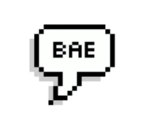 bae, overlay, and transparent image
