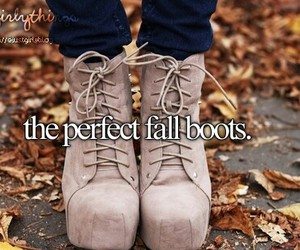 boots, fall, and perfect image