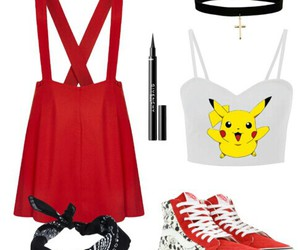 cartoons, pikachu, and swag image