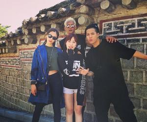 jackson, kara, and Nana image