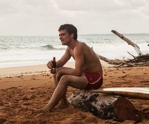 beach, summer, and josh hutcherson image