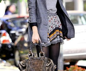 fashion, gossip girl, and outfit image