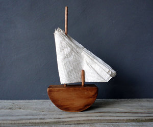 nautical, sailboat, and napkins napkin holder image