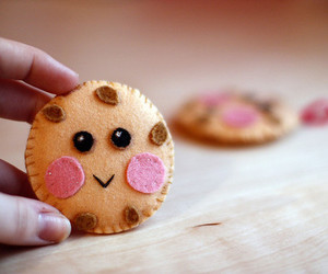 cute, cookie, and smile image