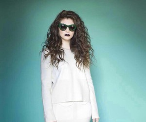 hair, music, and lorde image
