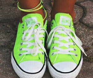 converse, yellow, and cool image