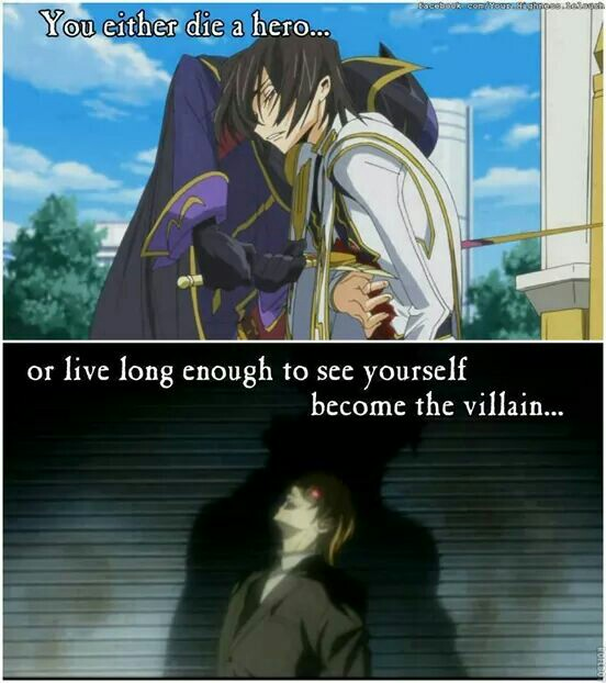 anime, code geass, and death image