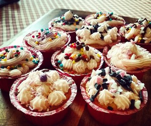 autumn, cupcakes, and love image