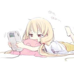 anime, girl, and game image