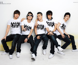 bigbang and korean image