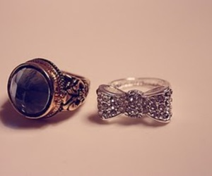 accessories, bow, and ring image