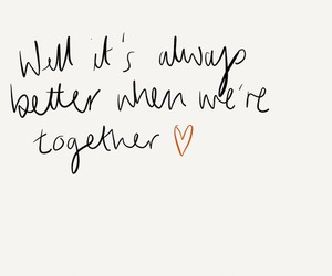 together, love, and couple image