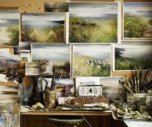 art, studio, and watercolor image