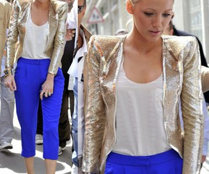 blake lively, style, and gossip girl image