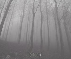 alone, sad, and grunge image