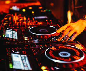 dj and music image