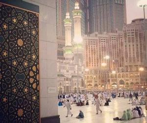 islam, muslims, and hajj image