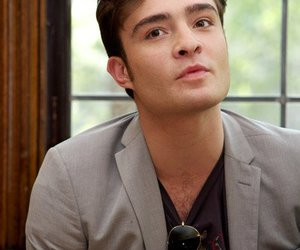chuck bass, ed westwick, and in love image