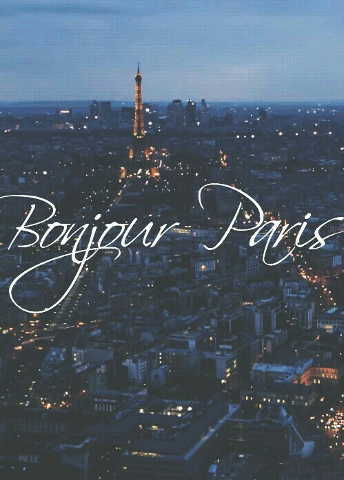 paris, bonjour, and france image