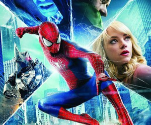 emma stone, gwen stacy, and andrew garfield image