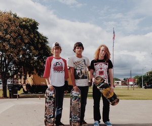 best friends, homies, and skaters image