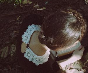 vintage, black, and forest image