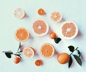 fruit, nature, and oranges image