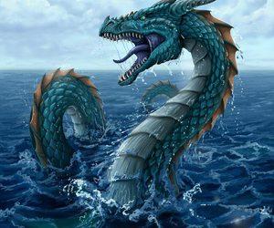 dragon and art image