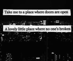 quote, place, and broken image