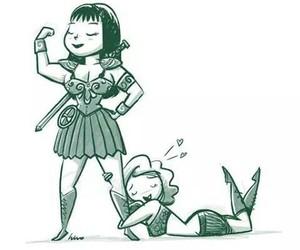 amor, gabrielle, and illustration image