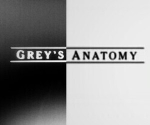 addicted, black and white, and greys anatomy image