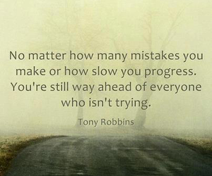 quote, mistakes, and life image