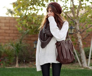autumn, fall fashion, and outfit image