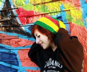 cap, girl, and hayley williams image